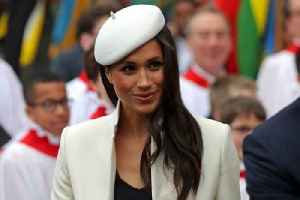 News video: Meghan Markle's Beret Pays Tribute To Princess Diana