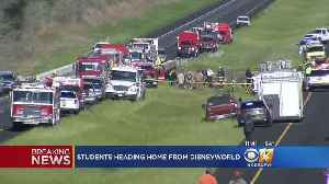 News video: News Now: Texas Students In Bus Crash & Austin Package Explosions