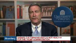 News video: UVA's Sabato Says Turnover Rate Is Not Healthy for Trump Administration