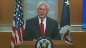 News video: Tillerson Comments After Being Fired As Secretary Of State