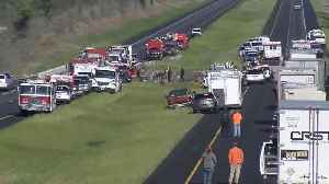 News video: At least one dead in Alabama bus crash