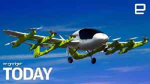 News video: Larry Page-backed company unveils an electric flying taxi | Engadget Today