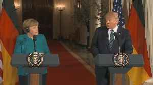 News video: Merkel Faces Trade Spat With Trump as She Begins Fourth Term