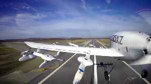 News video: Larry Page-backed company unveils pilotless flying car