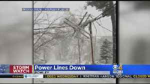 News video: Hundreds of Thousands Without Power From Blizzard