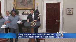 Trump Aide John McEntee Fired, Under Investigation For Financial Issues