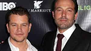 News video: Matt Damon and Ben Affleck are getting the side eye for adding inclusion riders to their projects, but at least they're DOING SO