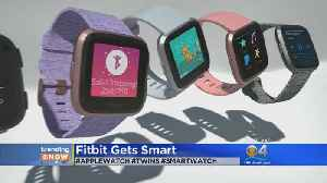 News video: TRENDING: FItbit Introduces Timepiece That Looks Very Similar To Apple Watch