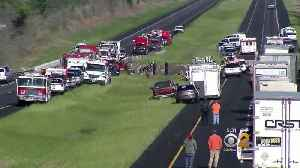 News video: Tour Bus Crashes In Alabama