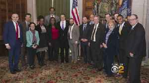 News video: Governor Cuomo Meets With City Council Members About Public Housing Crisis