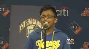 News video: Anthem Hopefuls Of All Ages Sing Their Hearts Out At Citi Field Competition