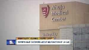 News video: Fertility clinics across the country wait for information about malfunctions at two clinics