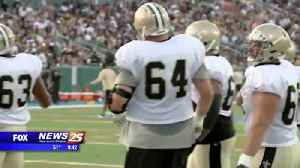 News video: New Orleans Saints right tackle retires