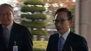 News video: S. Korean ex-president Lee Myung-bak questioned on graft