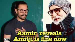 News video: Amitji suffering from shoulder injury, fine now: Aamir Khan