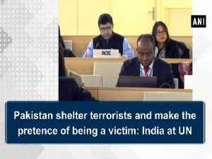 News video: Pakistan shelter terrorists and make the pretence of being a victim: India at UN