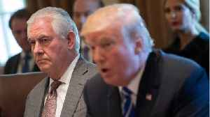 News video: Did Trump Fire Rex Tillerson Because They Couldn't Agree On North Korea?