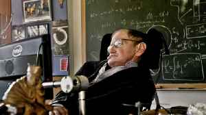 News video: Stephen Hawking, world-renowned physicist, dies at 76