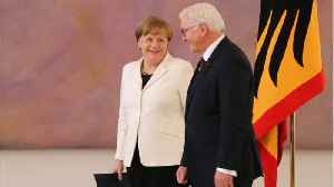 News video: Angela Merkel Elected For A 4th Term