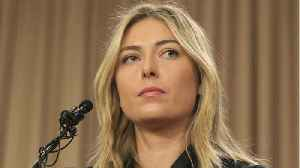News video: Russian tennis star Maria Sharapova is being slammed on Instagram for posing with a US flag