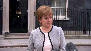 News video: Sturgeon backs May on steps taken against Russia