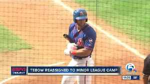 News video: Tim Tebow assigned to Mets minor league camp