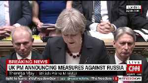 British PM Theresa May Rebukes Kremlin, Expels 23 Russian Diplomats [Video]