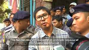 News video: Myanmar urged not to drag out case against Reuters reporters