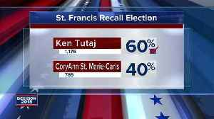 News video: St. Francis recall election results are in