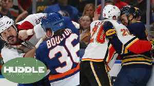 News video: Canada Wants to BAN Fights In Hockey!: Is This A Stupid Move? | Huddle