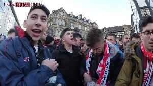 News video: Sevilla fans take over Manchester