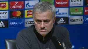 News video: Mourinho says he has no regrets after Champions League exit