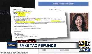 News video: New scam targeting your identity through fake tax refunds