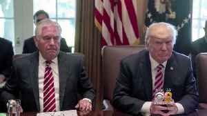 News video: Trump Replacing Tillerson With Pompeo As Secretary Of State
