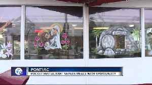 News video: One of the oldest restaurants in Pontiac is feeding stomachs and souls