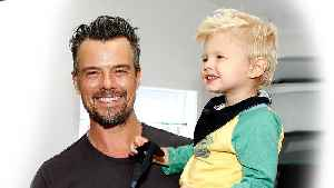 News video: Josh Duhamel Says Teaching His Son How to Play Tee-Ball Reminds Him Why He Wanted to Be a Dad (Exclusive)