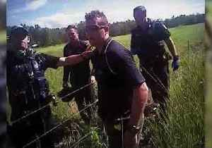 News video: Car Chase Ends in Cane Field With Four Arrests