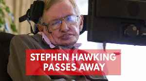 News video: Stephen Hawking, Renowned Physicist, Dies At 76
