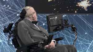 News video: Stars react to Stephen Hawking's passing