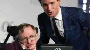 News video: What Stephen Hawking Meant To Eddie Redmayne