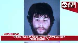News video: Man lured young girls on app, had sex with 12YO | Pasco Sheriff press conference