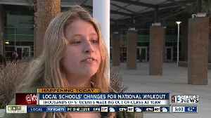 News video: Local student talks about walking out today
