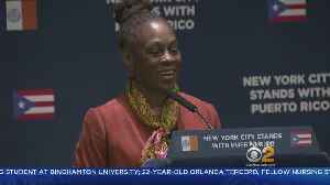News video: NYC First Lady Travels To Puerto Rico