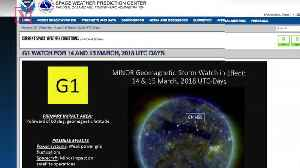 News video: Here's What You Need to Know About the Minor Solar Storm