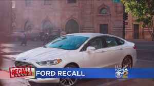 News video: Ford Recalls Almost 1.4M Cars; Steering Wheel Can Come Loose