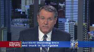 News video: Train Collides With Tractor-Trailer In Springdale Twp., Emergency Crews Called