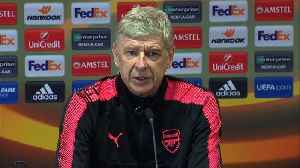News video: Europa League stronger than ever, says Wenger