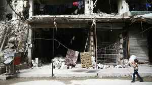 News video: More airstrikes hit Ghouta inflicting heavy loss of civilian life