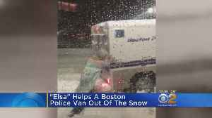 News video: 'Elsa' To The Rescue