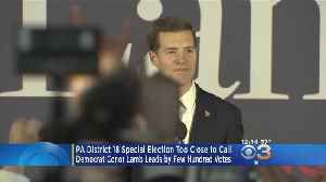 News video: Pennsylvania District 18 Special Election Too Close To Call